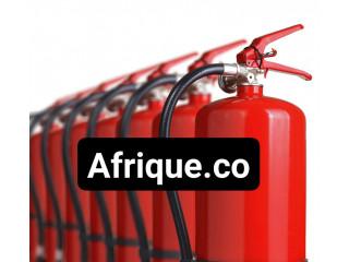 Abidjan protection incendie côte d'Ivoire extincteurs