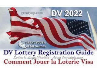 GREEN CARD - Inscription à la DV Loterie Carte Verte 2022
