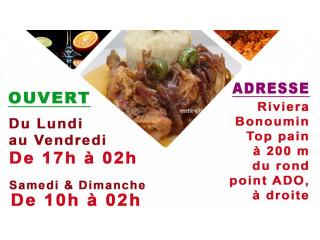 Votre restaurant yann's a ouvert ses portes a bounoumin 24sur24